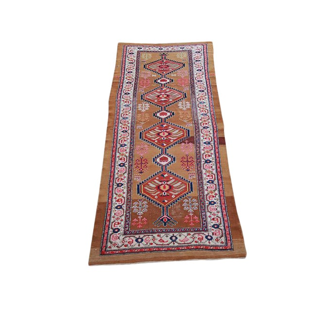 "Antique Persian Sarab Runner-3'8""x 9'6"" For Sale"