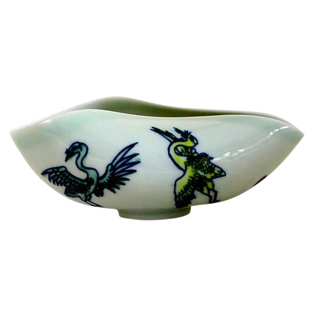 Antique Ming Calligraphy Water Dish - Image 1 of 5