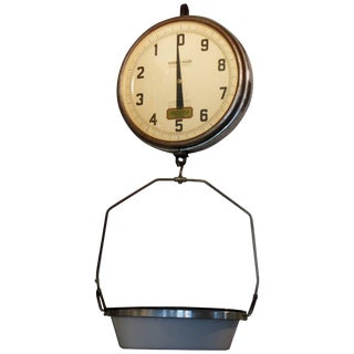 1960s Detecto Matic Hanging Scale For Sale