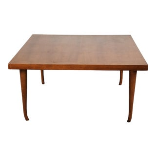 Mid Century Cherry Wood Coffee Table in the Style of Merton Gershun For Sale