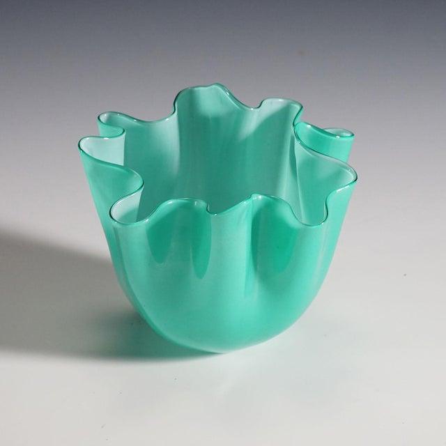 Fulvio Bianconi Vase 'Fazzoletto' for Venini Ca. 1960 For Sale - Image 9 of 9