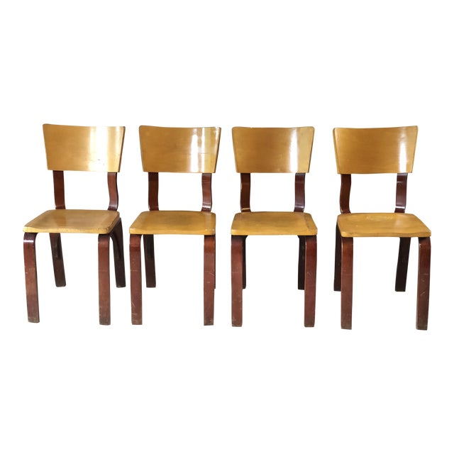 Thonet Bentwood Chairs - Set of 4 For Sale