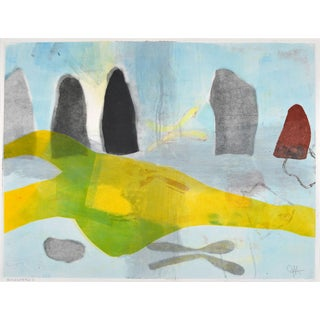 'Ancestors II' Monotype Print by Joan Ffolliott For Sale