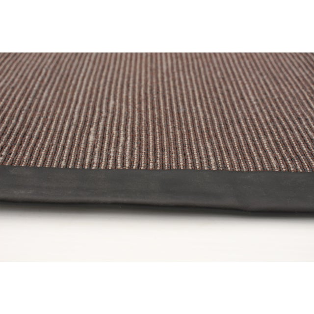 """2010s Handmade Jute Black and Brown Rug-8'10"""" X 11'6"""" For Sale - Image 5 of 9"""