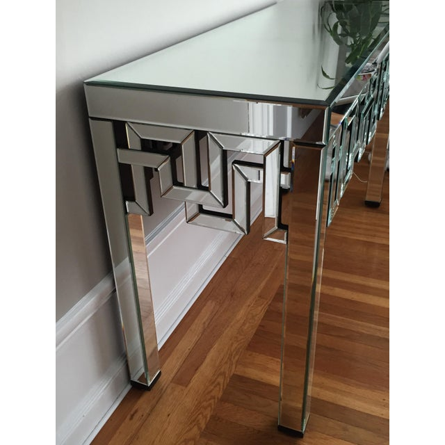 Mirrored Designer Console Table - Image 4 of 7