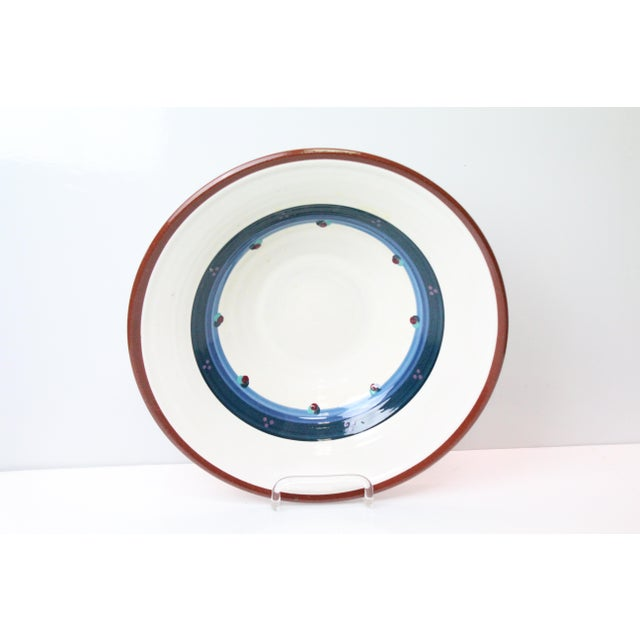 Contemporary Vintage Portland White Pottery Bowl For Sale - Image 3 of 8