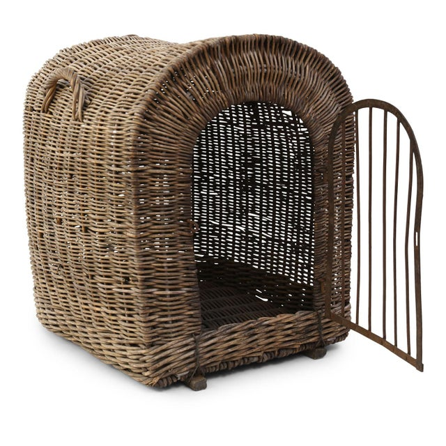 English Wicker Dog Kennel For Sale - Image 4 of 13