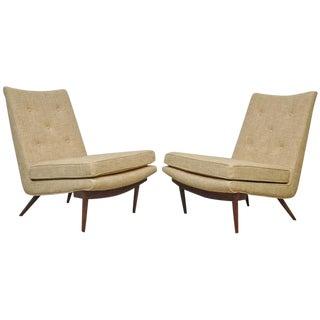 George Nakashima Slipper Lounge Chairs