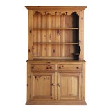 Image of Ethan Allen Farmhouse Pine Cupboard For Sale