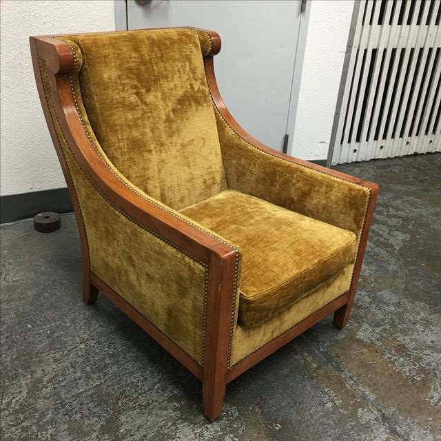 Dessin Fournier Arm Chair For Sale - Image 5 of 9