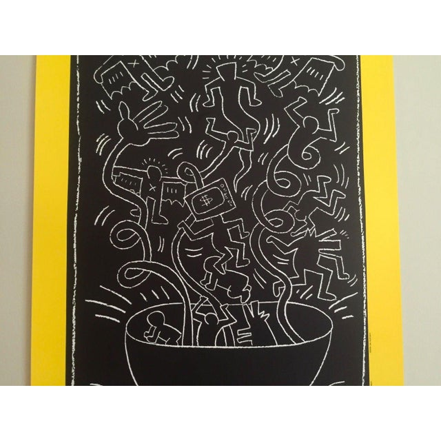 "Keith Haring ""Future Primeval"" Original Offset Lithograph For Sale - Image 5 of 10"