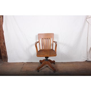 Oak Swivel Office Chair Preview