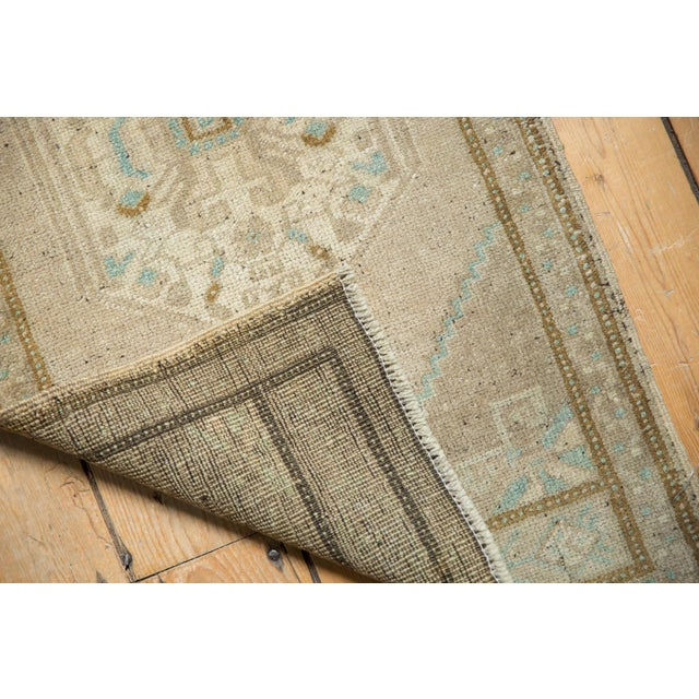 "Islamic Vintage Distressed Oushak Rug Mat Runner - 1'9"" X3'6"" For Sale - Image 3 of 7"