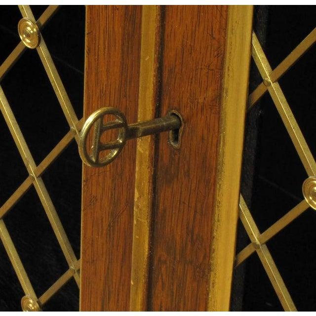 Brass Arthur Brett & Sons Regency Style Rosewood Sideboard For Sale - Image 7 of 10