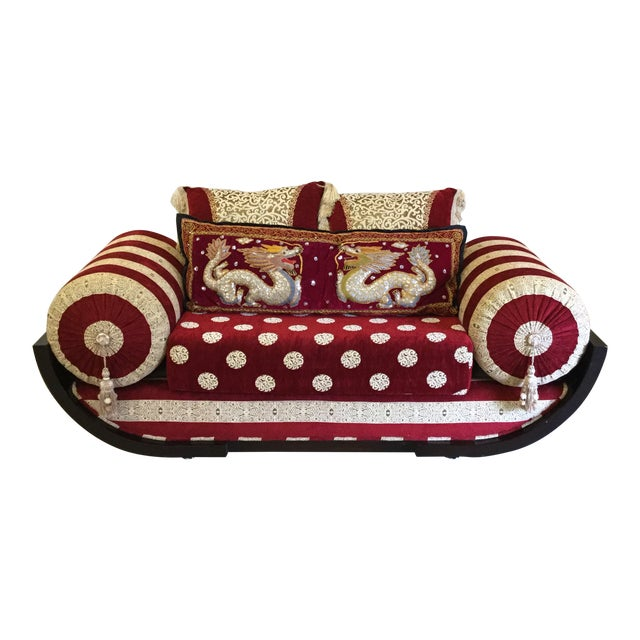 Moroccan Style Love Seat For Sale