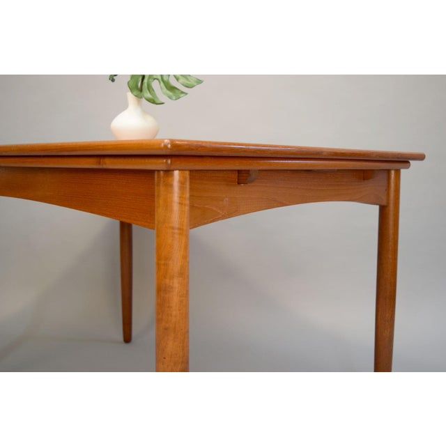 1960s Danish Teak Dining Table - Image 7 of 11