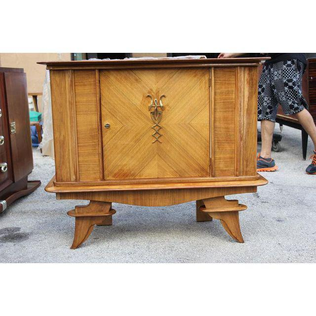 Art Deco French Art Deco Rosewood sideboard / Credenza Circa 1940s For Sale - Image 3 of 10