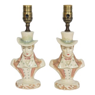 Pair of Restored Vintage Dapper Dandy Table Lamps For Sale
