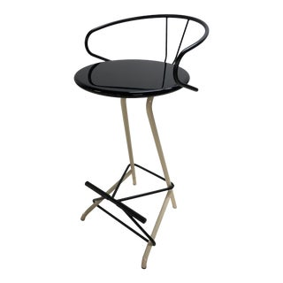 1980s Industrial Sculptural Stool For Sale