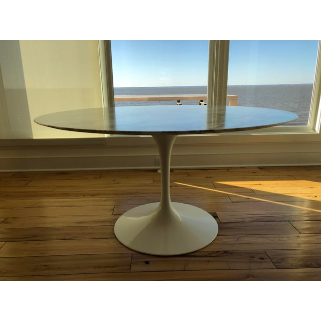 Authentic Knoll Saarinen Tulip Table - Image 2 of 8
