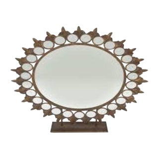 Bohemian Sun Desk Mirror For Sale