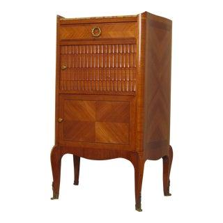 Tulipwood Louis XVI Side Cabinet For Sale