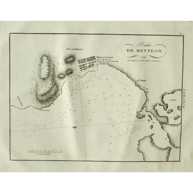 1809 Montego Bay, Jamaica Engraving For Sale - Image 4 of 7