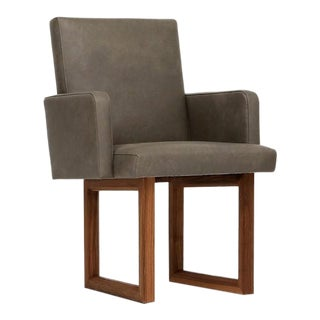 Cs C2a Leather Chair For Sale