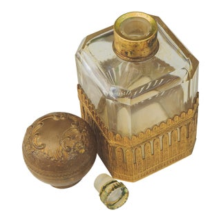 Antique Victorian Perfume Bottle For Sale