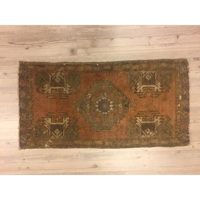 Vintage Turkish Anatolian Rug - 1′6″ × 2′11″ - Image 6 of 6