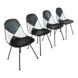 Image of 1950s Eames for Herman Miller Dining Bikini Chairs - Set of 4 For Sale