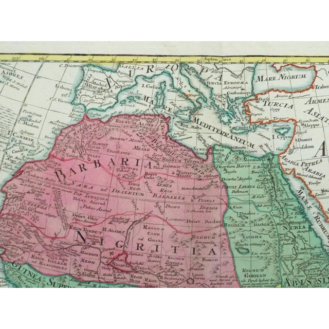 1778 Africa Map by Lotter For Sale - Image 10 of 10