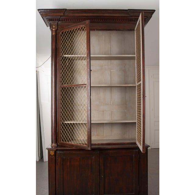 19th Century English Regency Library Bookcases - a Pair For Sale - Image 12 of 13