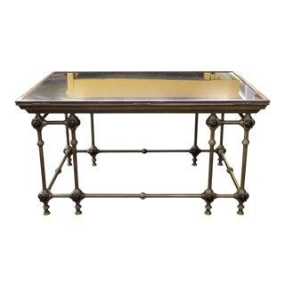 Napoleon III Map Coffee Table For Sale