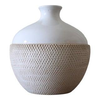 Flavia/Bitossi Italian Mid-Century Ceramic Vase For Sale