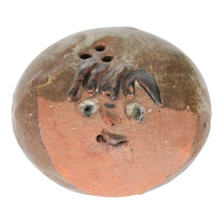 Studio Art Pottery Paper Weight For Sale