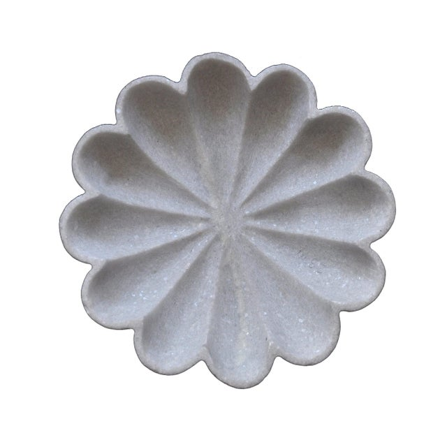 Marble Flower Bowl For Sale In New York - Image 6 of 6