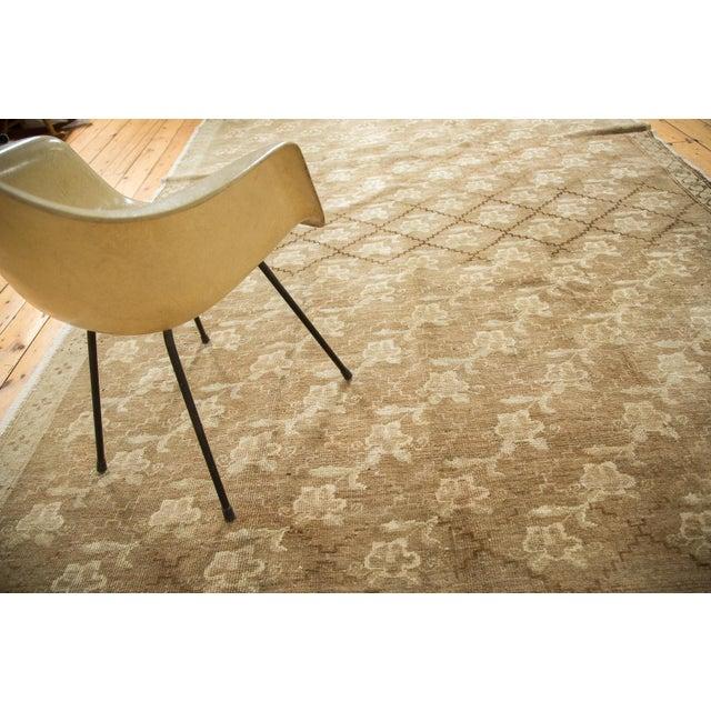 Vintage Oushak Carpet - 7′5″ × 10′8″ For Sale - Image 7 of 9