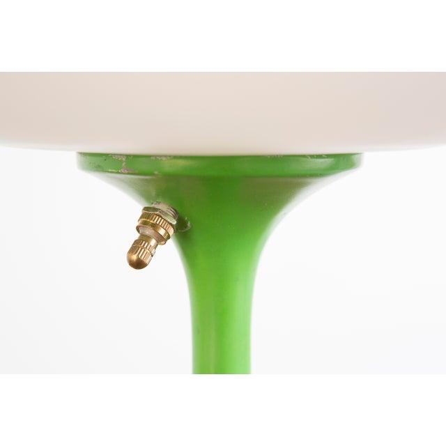 Rare Green Laurel Mushroom Lamp - Image 4 of 6