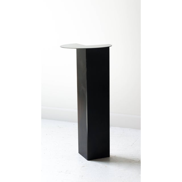 Birnam Wood Studio Umbrella Stand With Shelf in Blackened Steel and Copper by Birnam Wood Studio For Sale - Image 4 of 13