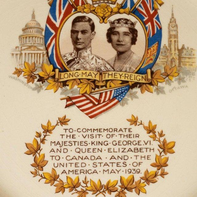 English Art Deco Royal Commemorative Porcelain Coronation Set For Sale - Image 12 of 13