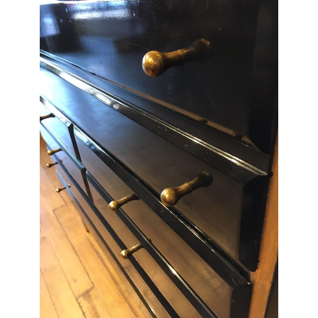 Mid-Century Modern Hollywood Regency Style Cabinet For Sale - Image 3 of 10