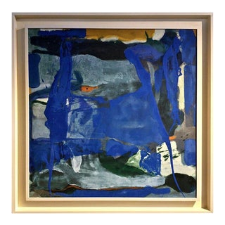 Abstract Modernist Painting, Signed and Dated, 1975 For Sale