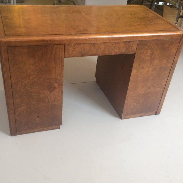 Art Deco Sligh Pedestal Desk - Image 8 of 8