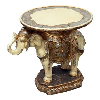 Indian Elephant Center Table For Sale