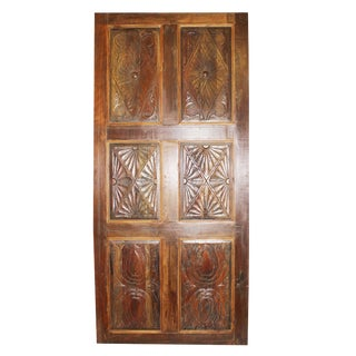 19th Century Antique Wooden Door For Sale
