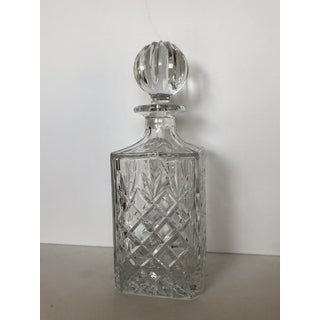Vintage Cut Glass 8 Sided Liquor Decanter Preview