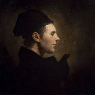 "Ray Donley ""Cap 24"" Baroque Portrait Oil Painting For Sale"
