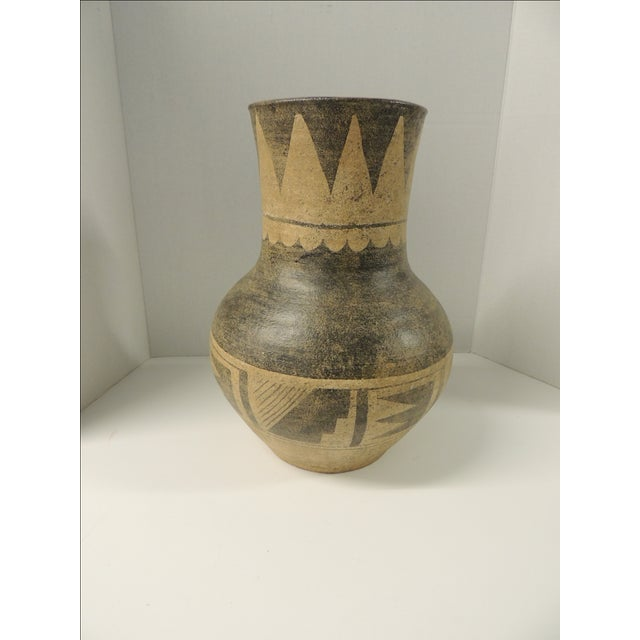 Vintage Mexican Large Terracotta Vase - Image 4 of 4