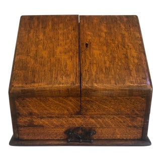 19th Century Antique English Stationery Box For Sale